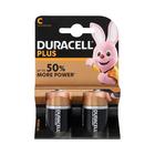 Duracell Alkaline Batteries Plus Power C2s
