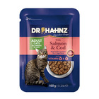 Dr Hahnz Cat Pouch Salmon & Cod 100g