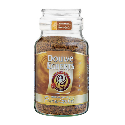 Douwe Egberts Pure Gold Coffee 200g Each Unit Of Measure