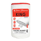 Pure Pleasure King Non Fitted Electric Blanket 183x150cm