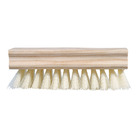 Leo Brush White Wooden Shoe Brush