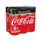 COCA-COLA SOFT DNK NO SUG/CAFFEINE 300ML x 6