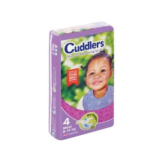 Cuddlers Comfort Diapers Size4 50 Ea