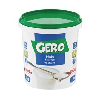 Gero Fat Free Plain Yoghurt 1 L