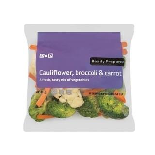 PnP Cauliflower Broccoli & Carrot 400g