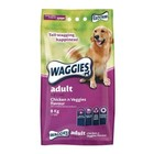 Waggies Dog Food Adult Chicken n Veggies  Flavour 8kg