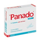 Panado Pain And Fever Capsules 20ea x 6