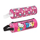 Hello Kitty Barrel Pencil Case