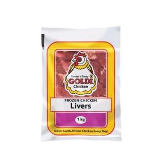 Goldi Chicken Livers 1 KG