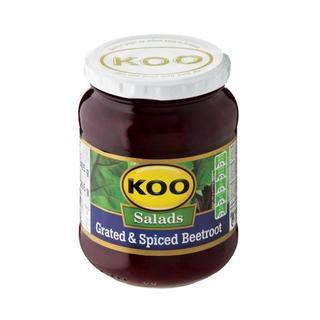 Koo Grated & Spiced Beetroot Salad 405g