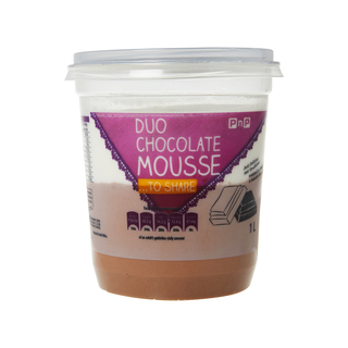 PnP Duo Chocolate Mousse 1l