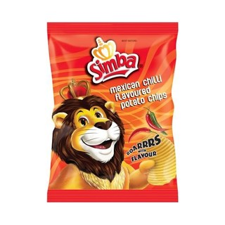 Simba Mexican Chilli Chips 125g x 15