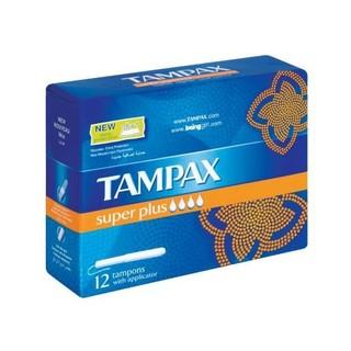 Tampax Super Plus Tampons 12ea