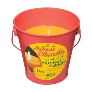 Republic Umbrella Yellow Bucket Candle Candle 300g