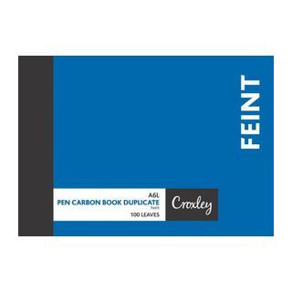 Croxley Duplicate Feint Book