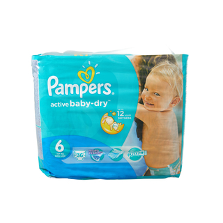 Pampers Active Baby Nappies XL Value Pack 36s