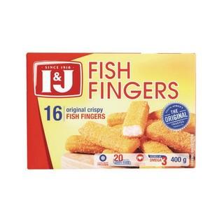 I&J Original Fish Fingers 400g x 12