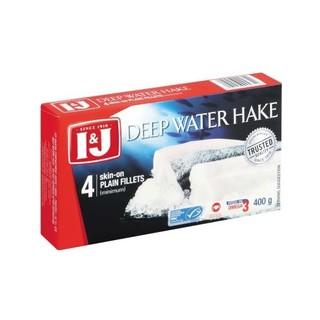 I&J Deep Water Hake Fillets 400g