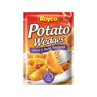 Royco Cheese & Bacon Potato Wedges