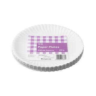 PnP Paper Plates 230mm 25ea