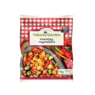 Natures Garden Hearty Roasting Vegetables 1kg