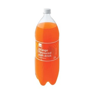 PnP Orange Plastic Bottle 2l