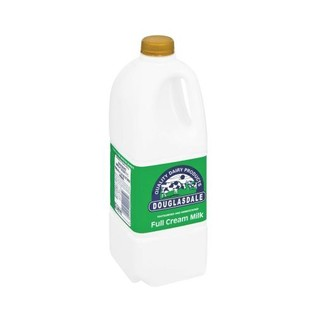 Douglasdale Full Cream Milk Plastic Bottle 2 L