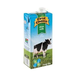 First Choice Long Life Skim Milk 1 Litre