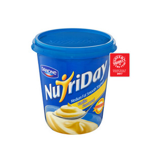 Danone Nutriday Low Fat Vani Lla Yoghurt 1 Kg