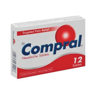 Compral Fast Acting Headache Tablets 12