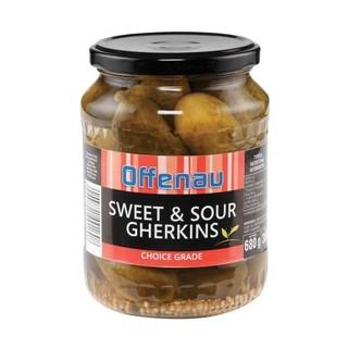 Offenau Sweet & Sour Gherkins 680g