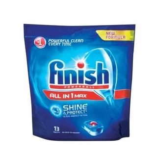 Finish Dishwasher Tabs Regular 13ea
