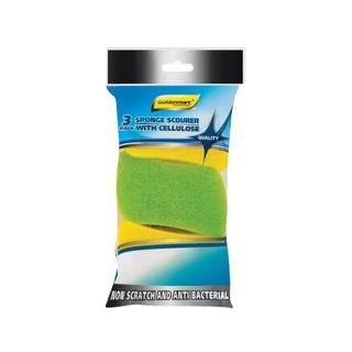 Goldenmarc Spong Scourer W Cellulose 3ea