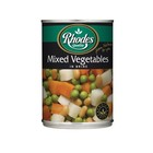 Rhodes Mixed Vegetables 410g x 12