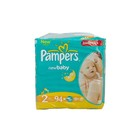 Pampers New Baby-Dry Size 2 Jumbo Pack, 94 Nappies x 2