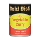 Gold Dish Hot Vegetable Curry 415g x 12