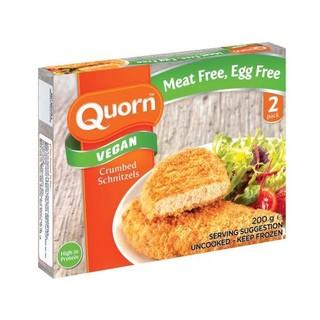 Quorn Vegan Schnitzel Crumbed 200g