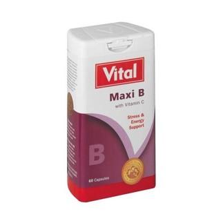 Vital Maxi B & C Capsules 60s