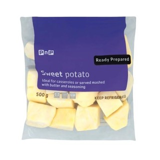 PnP Diced Sweet Potatoes 500g