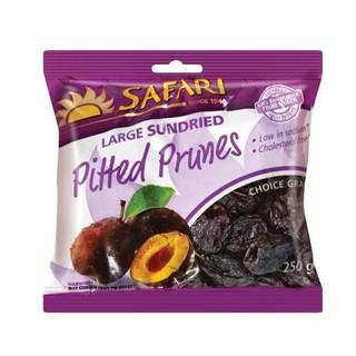 Safari Pitted Prunes 250g