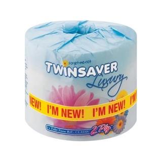 Twinsaver Luxury 2ply Toilet Paper White