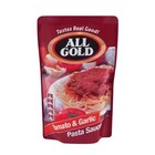 All Gold Pasta Sauce Tomato & Garlic 405 g