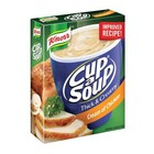 Knorr Cup-A-Soup Thick & Creamy Cream of Chicken 3s