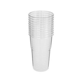 Teva Crystal Plastic Cups 10