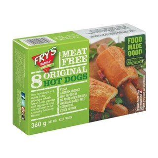 Frys Meat Free Hot Dog 360g