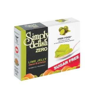 Simply Delish Sugar Free Lime Jelly 7.5g