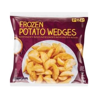 PnP Frozen Potato Wedges 1kg