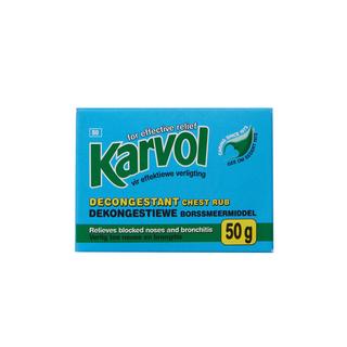 Karvol Chest Rub 50 Gr