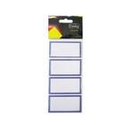 Croxley Blue Border Labels 24ea