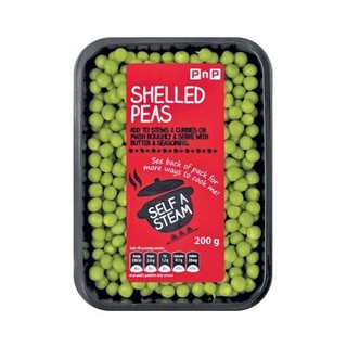 PnP Shelled Garden Peas 200g